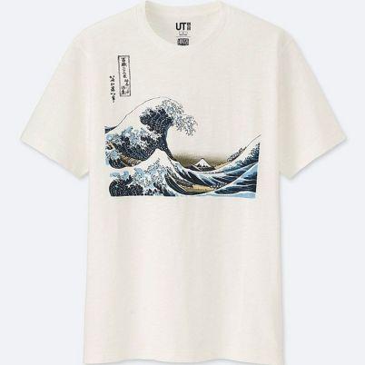 dcfc48c6c ... une collection de t-shirts et sweats rendant hommage à Hokusai  Katsushita « Blue Hokusai ». hokusai uniqlo 2019