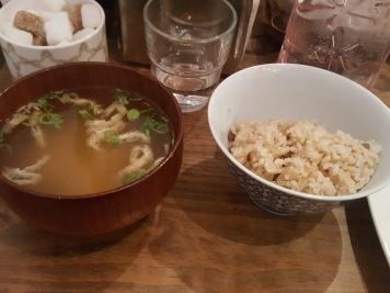 soupe miso et riz - solaneko toulouse