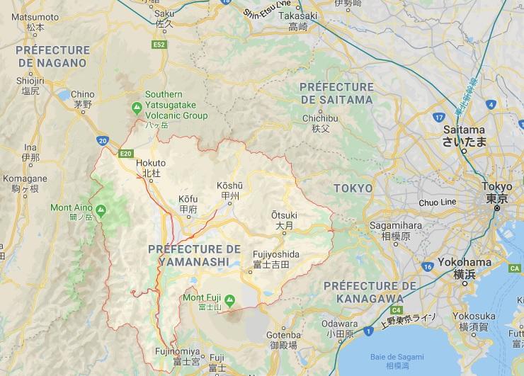 préfecture de yamanashi