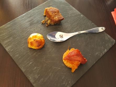 Restaurant Hito - mise en bouche